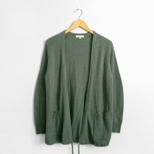 MADEWELL Olive Green Palisades Cardigan Sweater